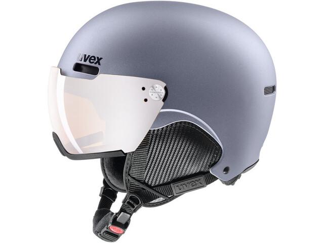 UVEX hlmt 500 Visor Casque de ski, strato metallic mat